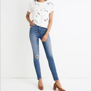 "Madewell 10"" High-Rise Skinny Jeans"
